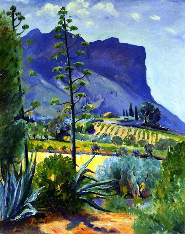 Henri Manguin 1874 1949 The Aloes in Bloom Cassis. IMG 2437