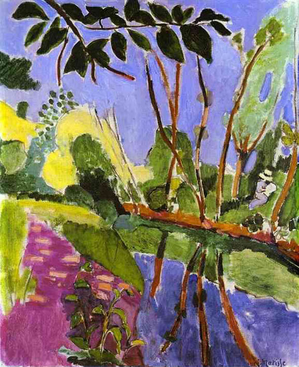 Matisse the riverbank IMG 1839